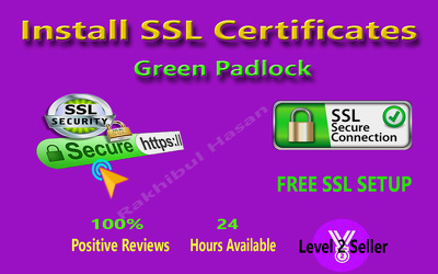 Install SSL, configure SSL & make green PadLock on Wordpress