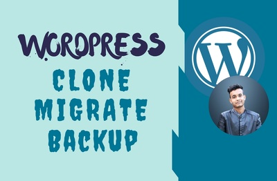 Clone any wordpress website asap
