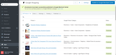 List Your Shopify Products On Google Shopping