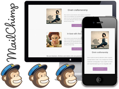Design Html / CSS / Mailchimp Template for your Business