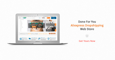 Make money with affiliate - Amazon & Aliexpess Ecom Website