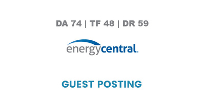 Publish a guest post on EnergyCentral - DA74, TF48, DR59