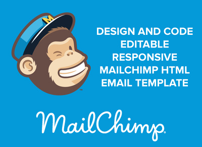 Create responsive editable MailChimp email template