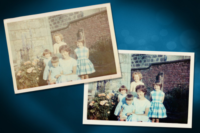 Photo Digital Restoration and Improvement