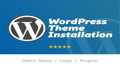Fix WordPress Issue, WP Installation, Theme Setup, Plugin Setup