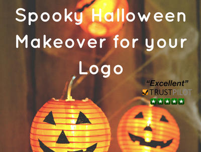 Give your logo a spooky halloween makeover