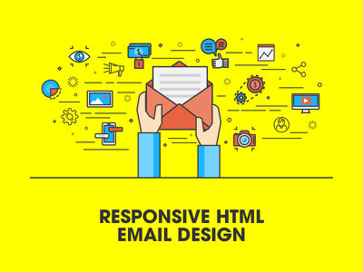 Design and build a marketing email for £120