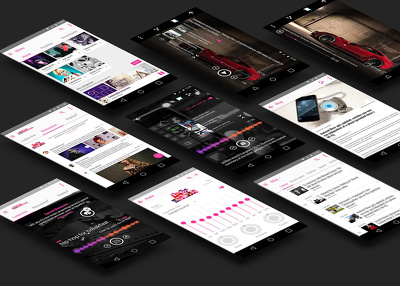 Design Mobile Apps Professional r Android / iOS / Hybrid / Ionic