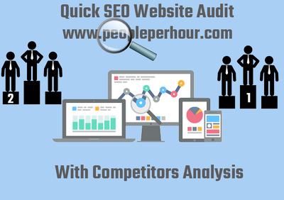 I Will Do Website Analysis With 3 Major Competitors Analysis