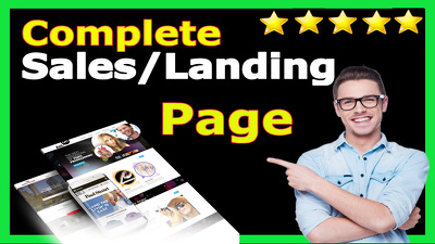 Make Stunning Landing/Squeeze Page and AutoResponder Integration