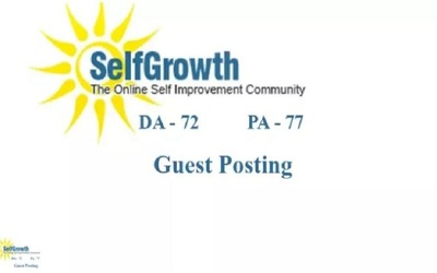 Publish and Write Guest Post on Selfgrowth Dot Com