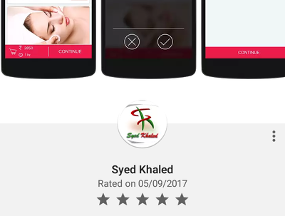 20 android app download+5 star rating+review only for 16$