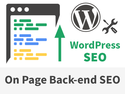 Improve your WordPress website's on-page SEO  [back-end only]