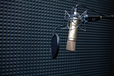 Record any British /US voice over within 24 hours