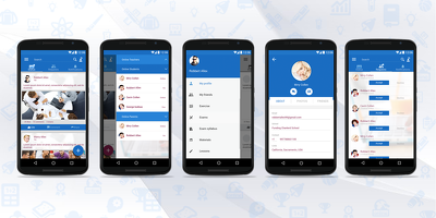 Complete school management app in android platform
