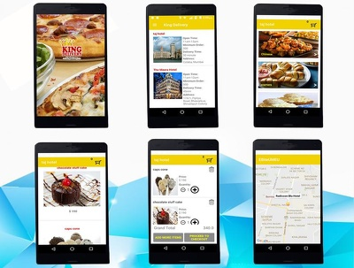 Develop complete multi vendor food Delivery App like Uber Food
