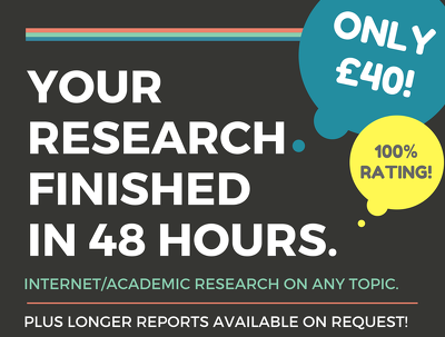 Create a 1000 word high-quality research report on any topic