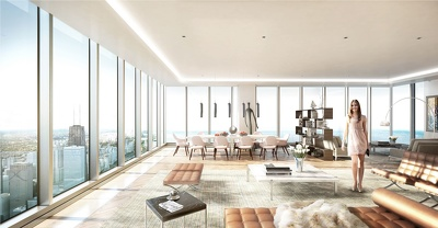 Produce  3D interior photo realistic visualization