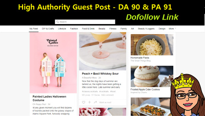 High Authority Dofollow Guest Post  DA 90 PA 91