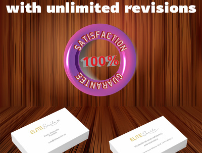 Desing double sided unique business card with unlimited revision