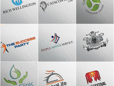 Design a Bespoke Logo+Unlimited Revisions+Favicon+Source files