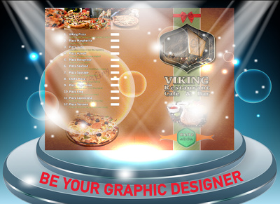 Be your proffesional graphic designer for 2 hour