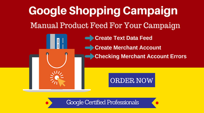 Set up Google shopping Product Excel Feed In Merchant Account