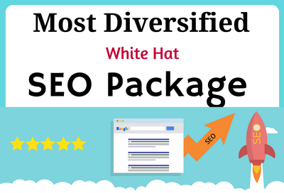Most Diversified White Hat Search Engine Optimization Package