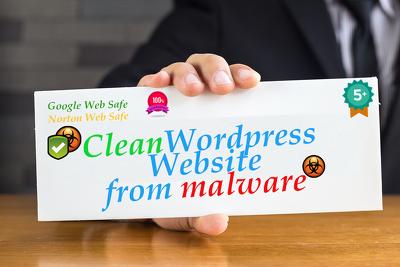 Remove malware/virus from your Wordpress website