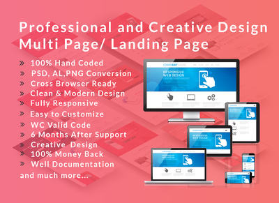 Build you a responsive website that is search engine optimised