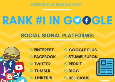 Do Social Signals To Rank You First In Google (LIMITED TIME!)