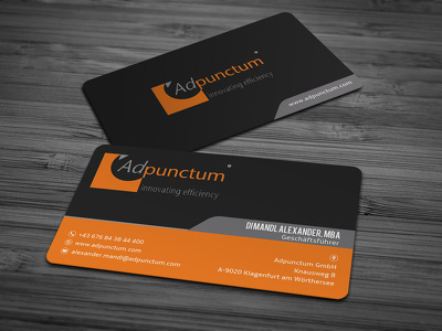Design Business Cards  + doubled sided + source file + printable