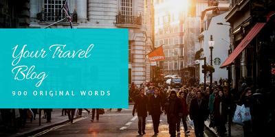 write a Provoking Travel Blog of 900 Original Words