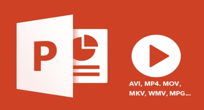 Convert powerpoint to video 1080p FullHD (with background music)