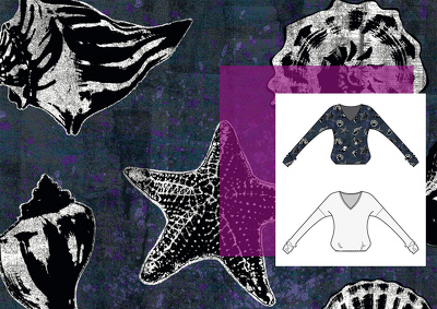 Design a Textile Alloverprint for Fashion or Furniture