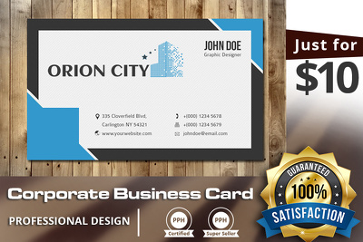 Design 3 professional business card