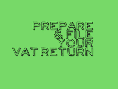 Prepare and file your VAT return