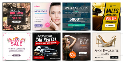Design an amazing professional banner advert for Instagram