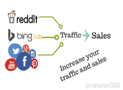 Increase targeted traffic and make sales