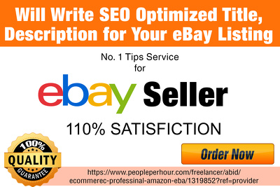 sEO  Optimise Your eBay Listing To Comes in Top Search Results