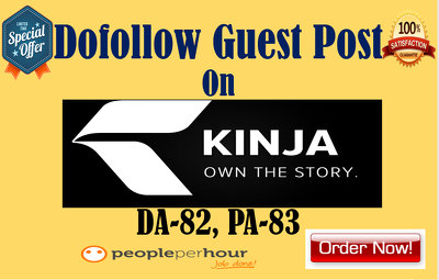 Write And Publish Dofollow Guest Post On General Blog DA82