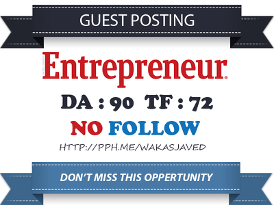 publish guest post on Entrepreneur - Entrepreneur.com DA 90