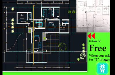 Convert any sketchy, jpeg to autocad