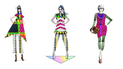 Fashion illustrate your clothing collection