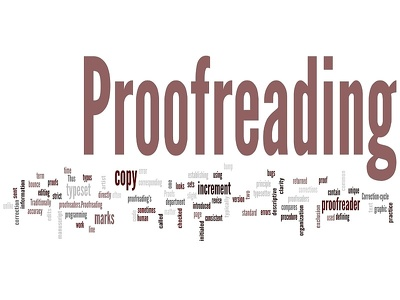 Proofread up to 5000 words
