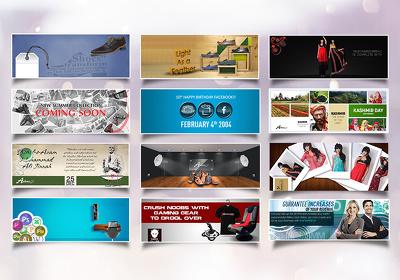 Design eye-catching Facebook ads