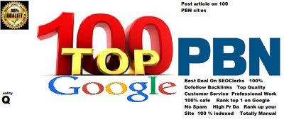 Boost Google TOP Ranking 1 manually 110 Backlinks  High Quality