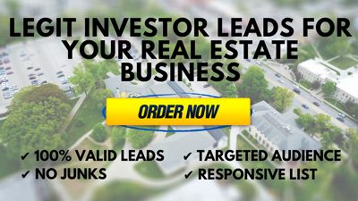 Provide 400 REAL leads a month for your real estate business