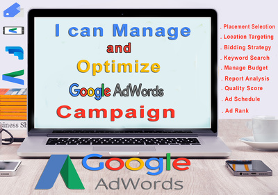 Manage and optimize adwords campaign. Get $75 free credit