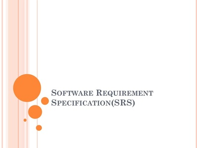 Do Software Requirement And Design Specification Documentation